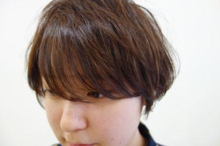 イマドキショートは前髪ちょいウザ【ウザバング】