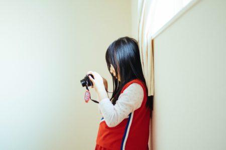 撮る娘を撮る